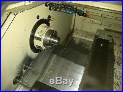 11.76 Swg Hardinge Conquest CS- GT CNC LATHE, Fanuc 0T, Gang Tool GT 380