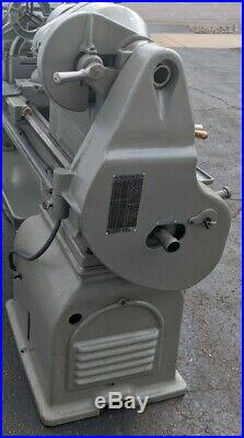 16/24 x 34 Inch South Bend Lathe With Tooling, single foot, 2hp single phase