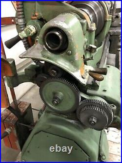1980s South Bend 13 x 40 metal lathe with tooling taper attachment