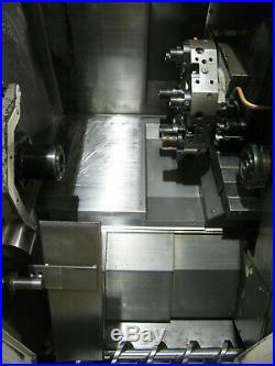 2001 HAAS TL-15 LIVE TOOL CNC LATHE with Sub-Spindle, Parts Catcher, Incl. Holders