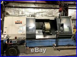 2002 Mazak ST-450 CNC Lathe, 10.25 Spindle Bore, Chip Conveyor, Tooling Include