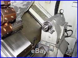 2005 Bridgeport ROMI G30 CNC Lathe, 21T FANUC, 12 Chuck, Swing Arm Tool Setter