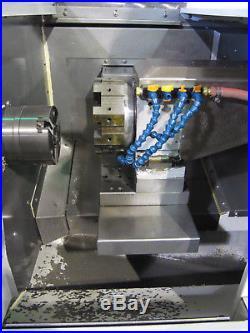 2007 HAAS GT-10 CNC Gang Tool Lathe 8-Station, 3000-rpm, 5 Chuck, A2-5