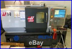 2010 Haas ST-10 CNC Lathe, Conveyor, Tailstock, tool setter, Rigid Tap