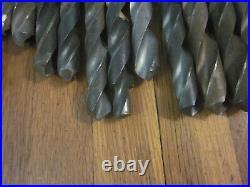 25 Morse Taper MT3 HSS Twist Drill Bit Tool Lot Machinist Lathe Mill Many NOS