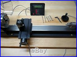 4410A-DRO Metric Sherline Lathe with Riser Package