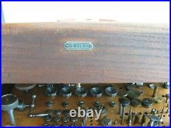 8 mm Vintage Star Co watchmaker lathe set-quality Swiss Made