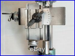 8 mm WATCHMAKER LATHE cross slide tailstock chuck tool holder motor foot switch