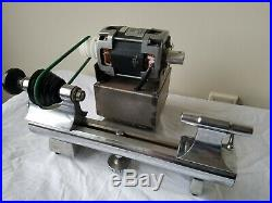 8MM Peerless Marshal Watchmakers Lathe withCross slide, Faceplate, & Accessories