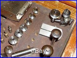 8mm Boley Geneva pattern Lathe for Watchmaker