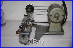 8mm Peerless Marshall Watchmakers Jewelers Lathe Headstock Tailstock Motor Base