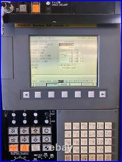 AMADA WASINO AI-8 CNC LIVE TOOL C Y AXIS TURNING LATHE ROBOT FANUC 32i
