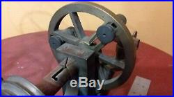 ANTIQUE JEWELERS WATCHMAKES CLOCK LATHE Very Early COMPLETE