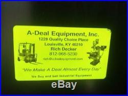 Acra-turn 14/20x40 Gap Bed Engine Tool Room Lathe 3 Jaw Chuck Dro's Tool Post