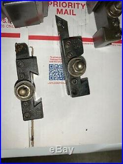Aloris AXA1 AXA2 tool holder 9-12 Lathe AXA tool post 6 Piece Set Atlas 12