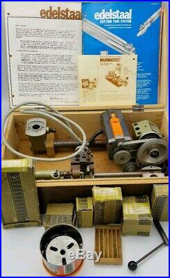 Am. Edelstall SL1000 UNIMAT Lathe, Made in Austria, Sold by Sears withAccessories