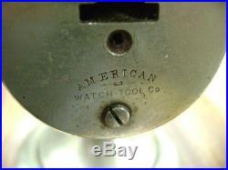 American Watch Tool Co / Boley Type Watchmaker's Jeweler's Lathe PRISTINE