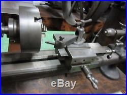 Ames Antique American Watch Tool Jeweler's Watchmaker's Lathe with Wood Bench