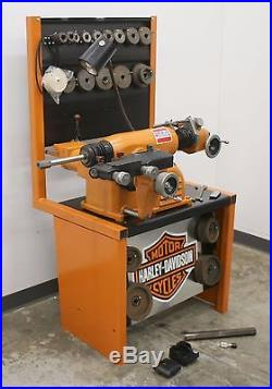 Ammco 4000 Disc Drum Brake Lathe Loaded with Tooling #309 Adapters & Bench, too