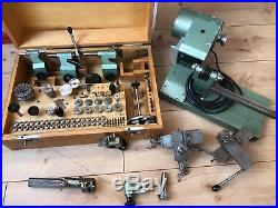 Andrä Zwingenberger, Präzima uhrmacherdrehbank, 8 mm watchmakers lathe DDR