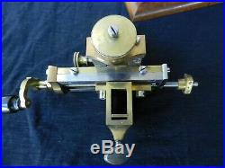 Antique Burine Fixe watchmakers lathe fantastic condition, fully functional