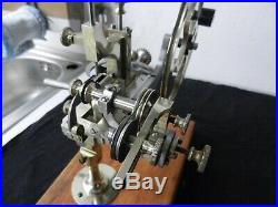 Antique Flume (Berlin) Gear wheel Cutting machine, watchmakers lathe, beautiful