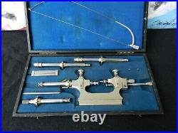 Antique Jacot Tool Watchmakers Lathe, good condition, with bow