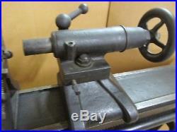 Antique W. F. &J. Barnes # 5 Velocipede Pedal metal lathe
