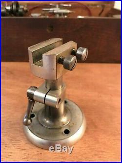 Antique Watchmakers Lathe LORCH SCHMIDT & Co. Double Bed Boxed Set