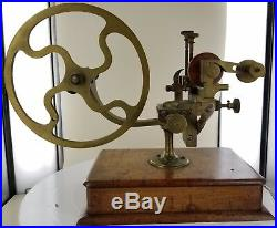 Antique Watchmakers Teeth Rounding Machine