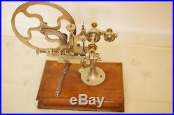 Antique Watchmakers rounding up / gear cutter lathe
