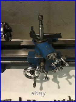 Atlas Clausing Craftsman 6 Metal Lathe 10100 With Tooling & Paperwork 4 Jaw Chuck