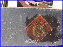 Beautiful W. F. Barnes Rockford Il. Bench Top Wood Lathe Antique Primitive