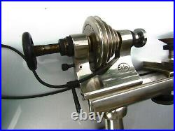 BOLEY WATCHMAKERS LATHE 8mm HEADSTOCK TAILSTOCK TOOL REST COLLET GERMANY