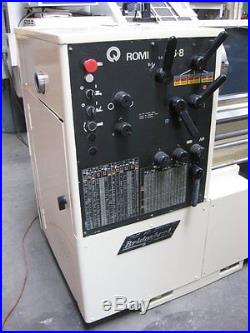 BRIDGEPORT Romi 16 x 72 Engine Lathe. Digital Readout & Loads of Tooling