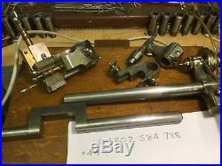 BTM 8mm watchmakers lathe, vgc cross slide, drill chuck tailstock, complete
