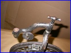 Beautiful Jeweler's Lathe Dentist Treadle Kick Wheel Foot Powered Pedal
