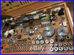 Bergeon 1766-B Watchmaker lathe uhrmahcerdrehbank boley horia schaublin