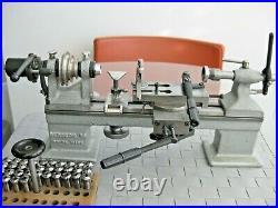 Bergeon 50 Watchmaker Lathe 8 mm WW set collets Swiss Made