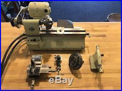 Boley F1 Watchmaker Lathe with Attachments Great Condition