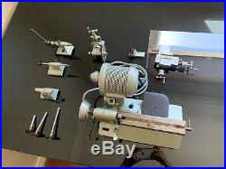 Boley F1 Watchmaker Lathe with Attachments Great Condition No Accessories