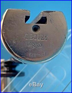 Boley Watchmakers Lathe Headstock Tailstock Cross Slide Tool Rest Collet Germany