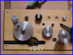 Boxed Genuine Swiss Favorite 8mm Watchmakers Lathe