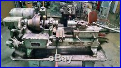 Brown & Sharpe No. 1 Collet / Turret Metal Lathe with Tooling