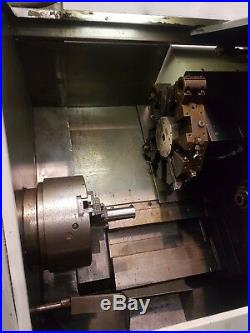 Churchill / TI Machine Tools HC4/10 CNC Lathe with Swarf Conveyer / FANUC /FAPT