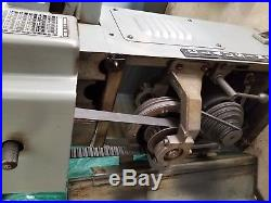 Clausing 4911 10 inch Metal Lathe 3 & 4 Jaw chucks QC Tool post and many extras