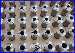 Complete Set of 90 Boxed 10mm Levin D (Derbyshire) Collets Near Mint