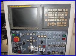 DAEWOO PUMA 230MSB CNC LATHE WITH LIVE TOOLING, SUB, FANUC 18iTB, 2001
