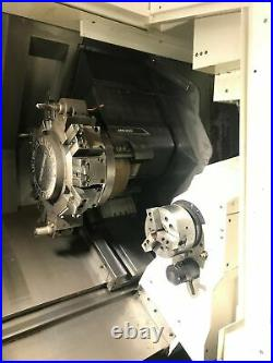 DMG Mori NLX2500SY/700 CNC Lathe, 2018- Sub Spindle, Live Tooling, PM Report 6/1