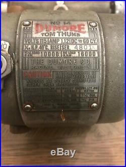 DUMORE TOOL POST GRINDER No. 14 Tom Thumb Inside/Outside
